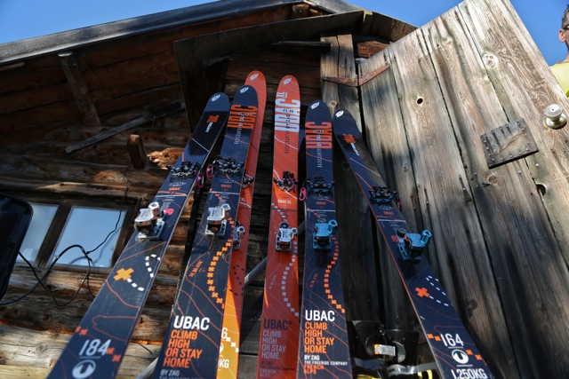 Zag skis for the backcountry
